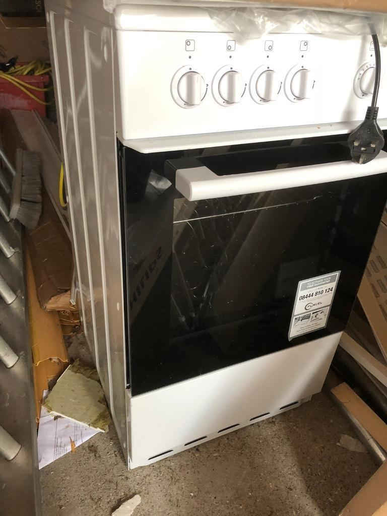 Flavel Fsbg51w 50cm Gas Cooker White In Newcastle Tyne And Wear Collection Ovens Single Electric Lamona Conventional Oven