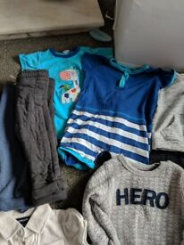 Baby boys clothes bundle age 6-9 months, 20 items