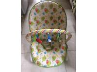 Musical Baby Bouncer and Rocker