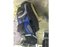 Power caddy golf bag plus trolley