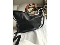 ZARA Faux Leather Handbag