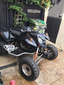Ktm 525 on road race quad 2007 swop for a tipper or recovery not raptor yfz