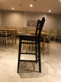 BAR STOOLS/CHAIRS and TABLE