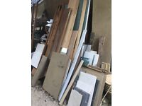 DIY clearance. FREE to collector: timber, melamine shelves, doors .