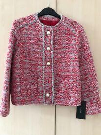Zara Tweed / boucle Jacket