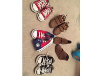 Toddler converse and shoes