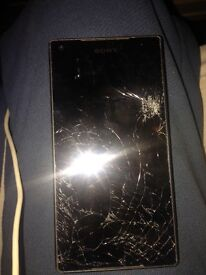 Sony expiera z5 compact on o2 smashed screen