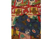 Scooby Doo Single Duvet cover and pillow cover