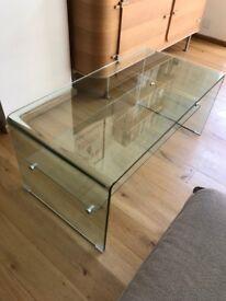 Habitat Glass Coffee Table