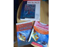 Textbooks - highschool and beyond
