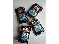 Star Wars Micromachines x 4