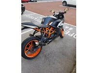 2016 KTM RC 125 + Extras **REDUCED**