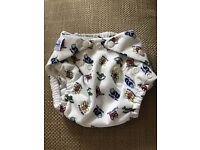 Fuzzi Bunz All-in-One Washable Nappies x2 for 0-6 Months