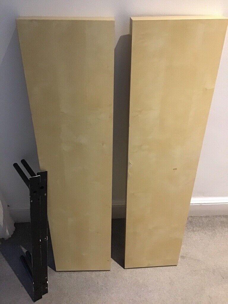 Two Ikea Lack Wall Shelves Birch Effect In Southville Bristol Gumtree
