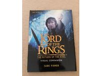 The Lord of the Rings The Return of the King Visual Companion by Jude Fisher good condition
