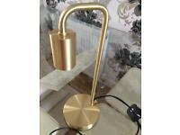 Aydan Satin Brass - Table Lamp