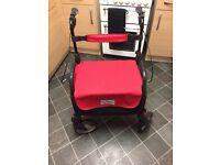 Mobilty shopper support walker