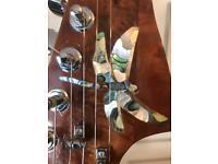 Custom inlayed stratocaster