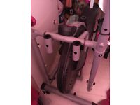 Wer Cross trainer excellent condition pink and black