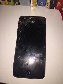Broken iPhone 5