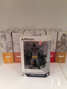 7 figure lot of Batman Designer Series