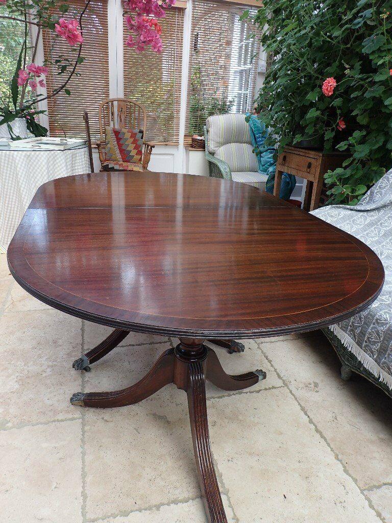mahogany regency style dining table | in York, North ...