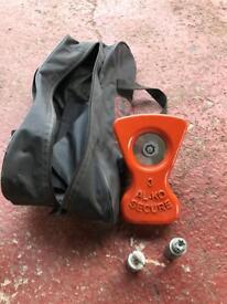 Alko wheel lock kit complete no3.