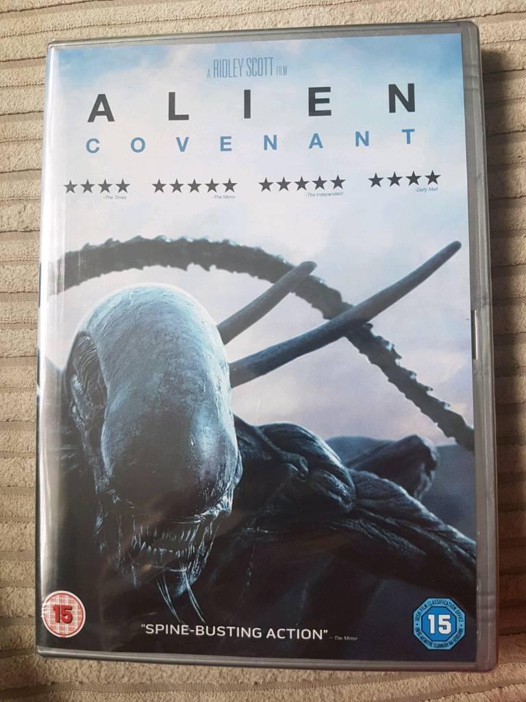 Alien Covenant DVD unopend