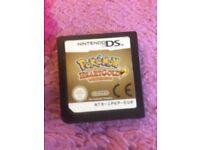 Pokemon heartgold Nintendo ds game
