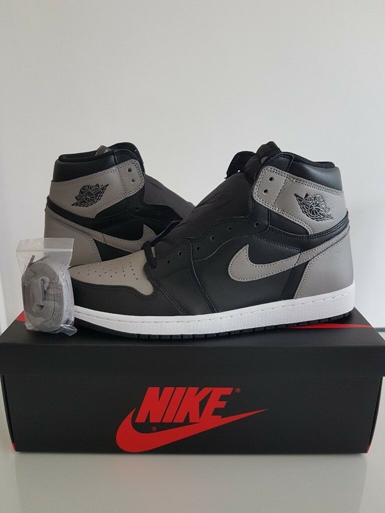 Nike Air Jordan 1 'Shadow' Size 12 UK - IN HAND