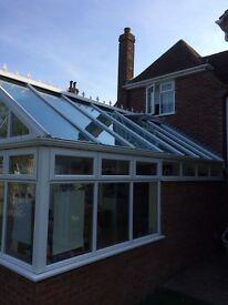 Pilkington Activ Blue glass conservatory roof