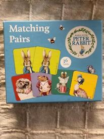 Beatrix Potter. Peter Rabbit Matching Pairs