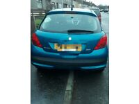 Peugeot 206 sport, for parts or repair engine management fault.