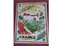 VINEYARDS OF FRANCE collectors item