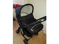 Hauck Miami 4S pram set (car seat, pram, pushchair)