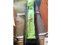 Maver black and green 8-10 tube holdall