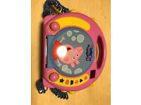Peppa pig boom box