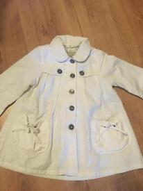 Girls genuine Burberry jacket age 18 months