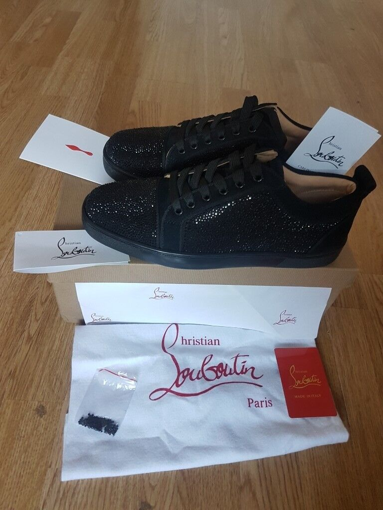 c252ff12afe Christian Louboutin- Men's Sneakers Lows (Blk Crystals) | in Westminster,  London | Gumtree