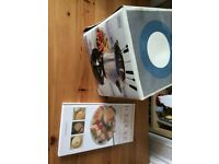 Brand new fondue set and recipe book