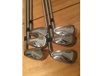 Golf club bundle of irons and wedges. 3 sets of irons (inc MPH5s), 2 pairs of wedges, plus a Vega SW