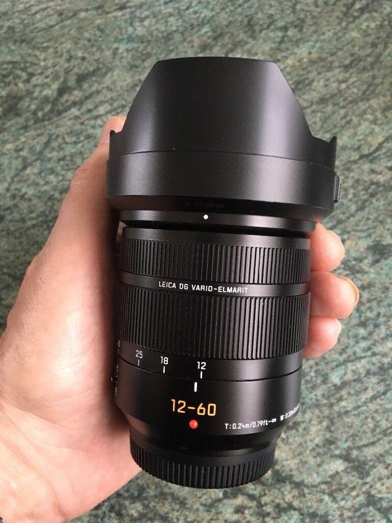 Panasonic Leica Dg Vario Elmarit 12 60mm F 28 40 M4 3 Lens In 200mm Power Ois