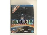 Independence Day Resurgence. Blu-Ray &Digital download
