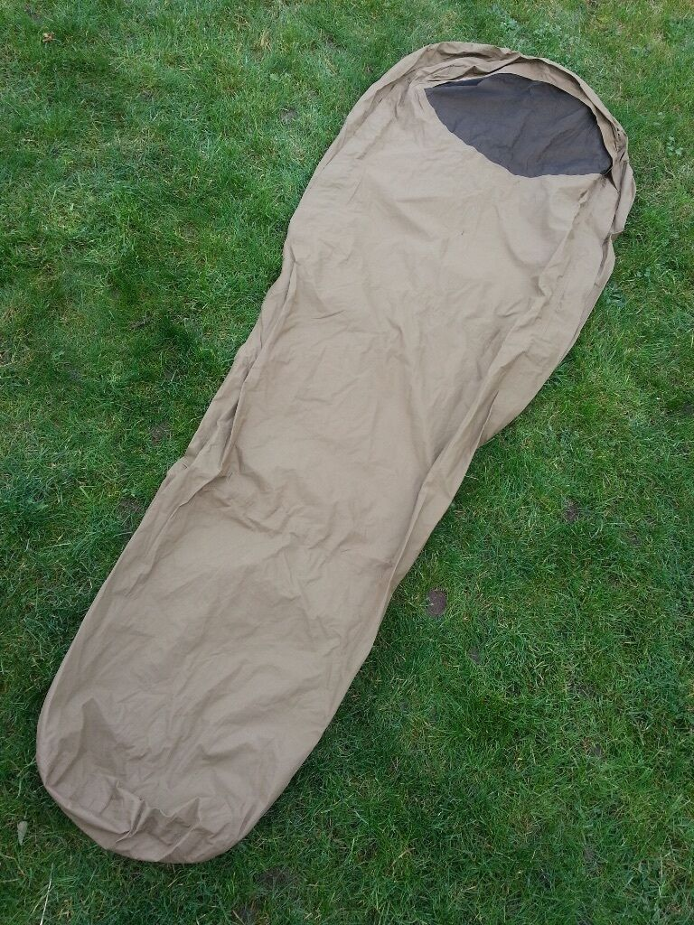 Usmc Goretex Bivy Sack Waterproof Sleeping Bag Cover In
