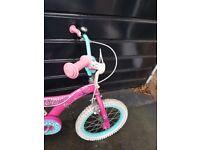 Girls 16 inch barbie bike great condition