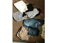 Bundle of maternity clothes size 8 mainly next