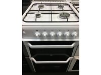 INDESIT 50CM ALL GAS COOKER IN WHITE