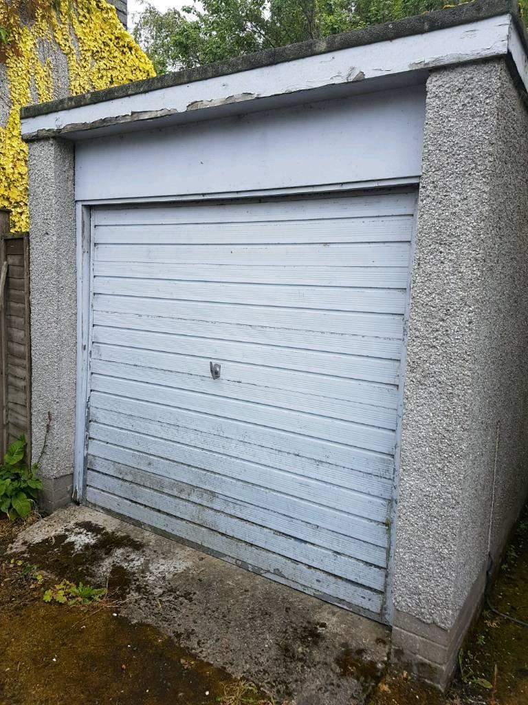 Henderson Up And Over Garage Door In West Linton Scottish Borders