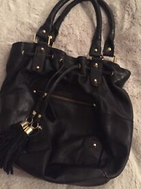 Leather Topshop Handbag