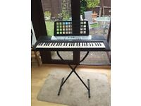 YAMAHA YPT200 ELECTRIC KEYBOARD, with stand